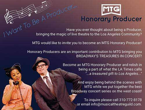 MTG - Honorary Producer