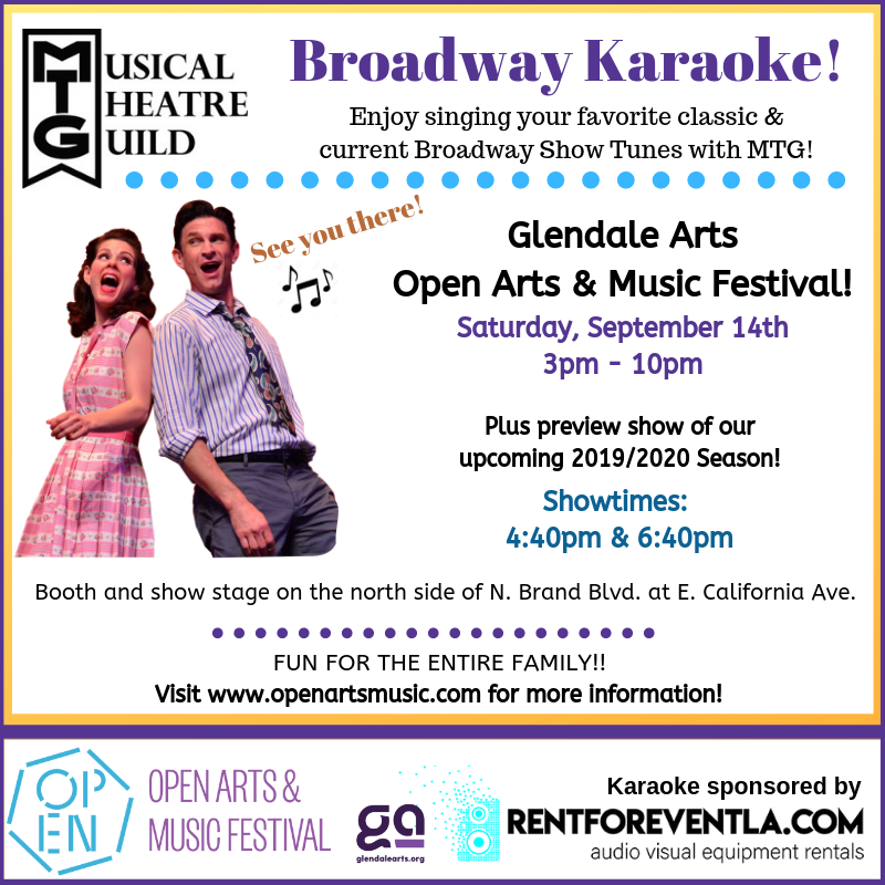 Musical Theatre Guild at Open Arts and Music Fest